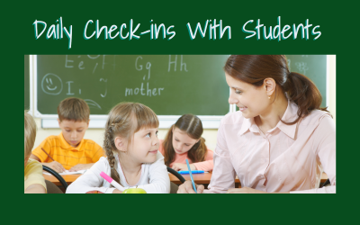 Daily Check-ins With Students