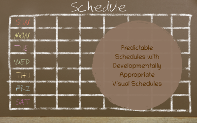 Predictable Schedules with Developmentally Appropriate Visuals